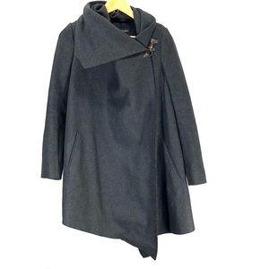 All saints wool long sleeve cape size 8
